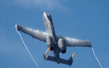 самолет, оружие, авиация, a10 thunderbolt
