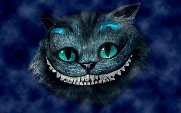 алиса в стране чудес, чеширский кот, алиса в зазеркалье