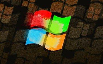 цвет, логотип, компьютер, эмблема, операционная система, винда