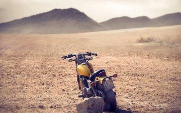 земля, холмы, камни, фон, камень, настроения, мотоцикл, колесо, байк, камушки
