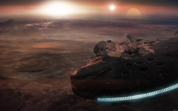 the ship, to, the spaceship from the new star wars film. fl, moved, using, ion, engines, which, could, to disperse, sublight, speed.