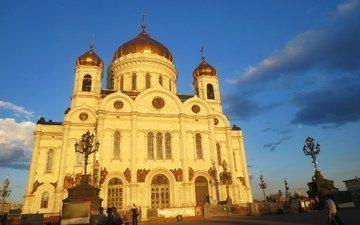 москва, город, храм христа спасителя
