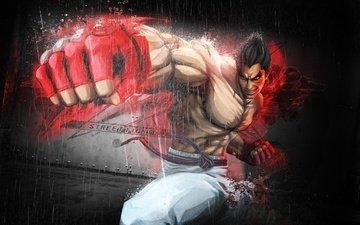 rage, power, blow, fighter, fist, street fighter