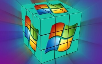 windows cube-cube