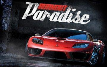 burnout paradise, couples, wet asphalt
