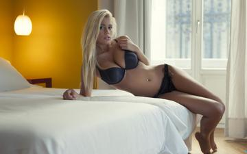 girl, blonde, underwear, beautiful, erotic