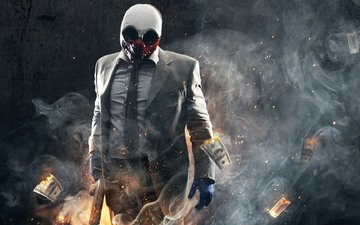 wolf, payday 2, heist, payday