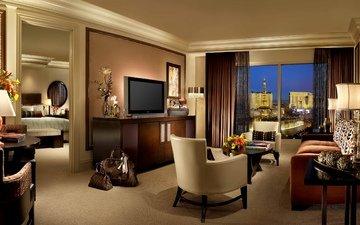 interior, design, hotel