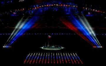 россия, флаг, олимпиада, 2014 год, олимпийские игры, сочи