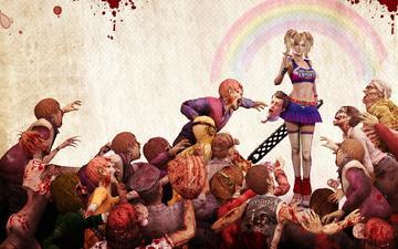 lollipop, chainsaw, zombie, game