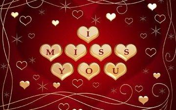 heart, feelings, i miss you