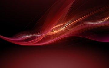 абстракция, красный, креатив, сони, xperia