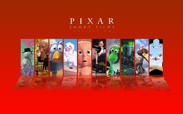 collection, pixar, cartoons, shorts