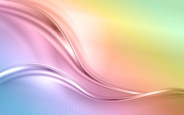 абстракт, фон, радуга, креатив, расцветка, волн, радуга.