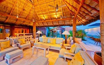 interior, veranda