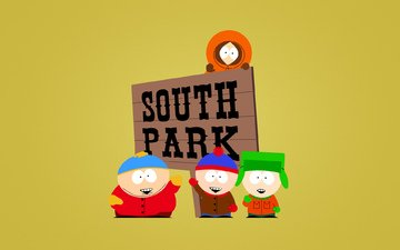 south park, light background