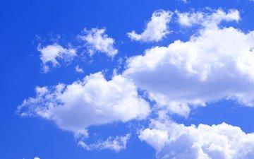 небо, облака, природа, простор