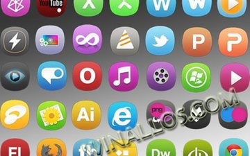 serviana - colorful icons set formats ic