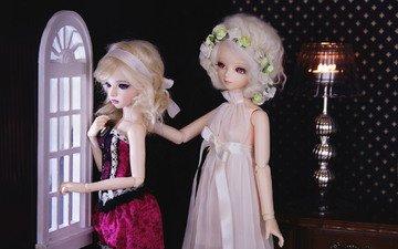 игрушки, девочки, блондинки, куклы