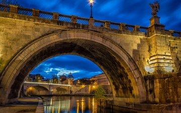 италия, рим, ватикан, мост святого ангела