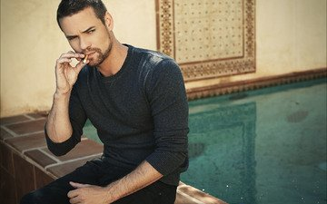 wallpaper, photo, actor, smokes, shane west