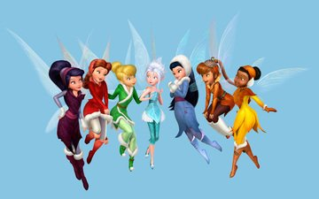 fairies, disney, secret of the winter forest