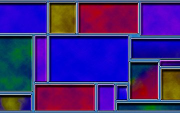 colorful, color, squares