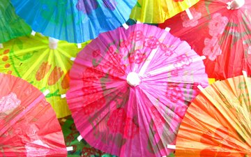 mood, colorful, umbrellas