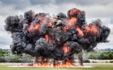 "helicopter, the explosion, ah-64, shock, ""apache"", main, apache"