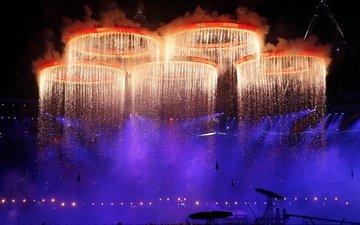 лондон, олимпиада, спорт, кольца, 2012 год