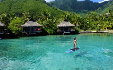природа, море, отдых, бунгало