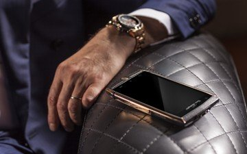 hand, watch, phone, android, gold, technique, hi-tech, lamborghini, rich, device, smartphone, torino, style, tonino lamborghini 88 tauri 2, lamborghini 88 tauri 2, tauri, brown