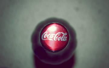 напитки, бутылка, кока-кола, пробка