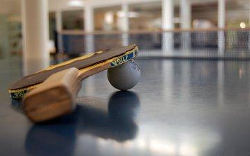 tennis, racket, table, the ball.sport