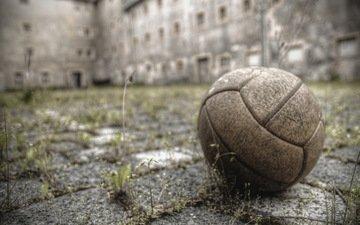 football, sport, the ball, yard