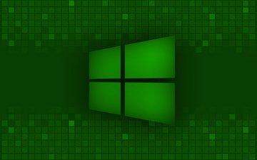 green, logo, windows 8, microsoft