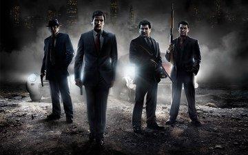 weapons, guns, mafia, mafia 2
