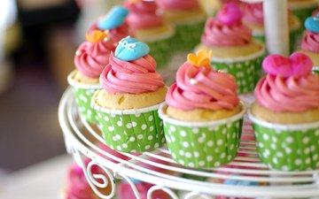крем для торта, сладкое, кексы, кексики