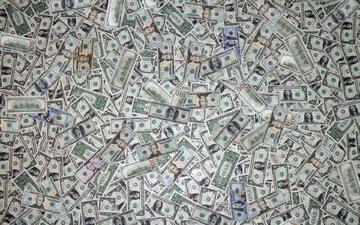 текстура, фон, деньги, купюры