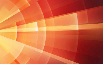 абстракция, линии, фон, оранжевый