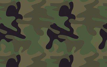 текстура, военный, камуфляж, цвет хаки