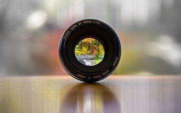 линза, изображение, объектив, фотокамера