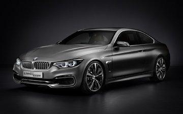 обоя, автомобиль, concept, купе, бмв, 2013, 4 series, фоновые рисунки, новая