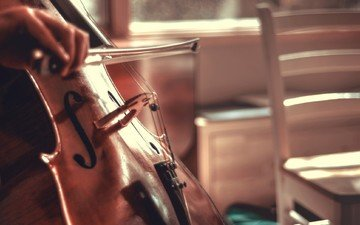 music, strings, cello, bow, nathan siemers