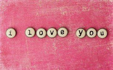 фон, надпись, слова, буквы, любовь