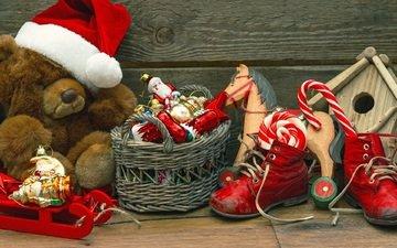новый год, подарки, игрушки