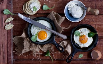 завтрак, яйца, натюрморт, яичница, anna verdina, яицо