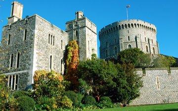 англия, виндзор, графство беркшир, виндзорский замок