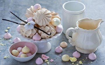 сладости, сладкое, зефир, натюрморт, anna verdina, безе, меренги