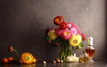 flowers, bouquet, aroma, perfume, still life